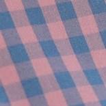 粉藍小格子