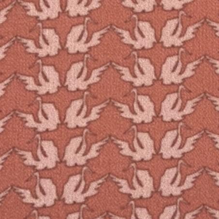 幾何天鵝(橘)