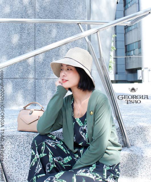 GT維京帽刺繡天絲針織外套