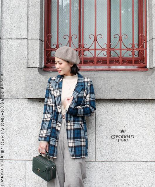 GT 毛料大衣外套