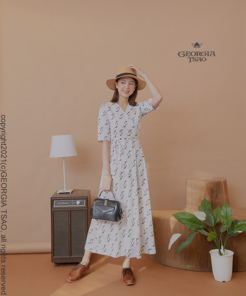 GT Print 開襟洋裝