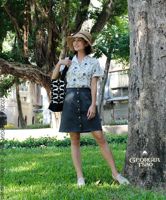 GT排釦短裙