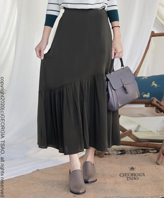 GT斜面魚尾裙