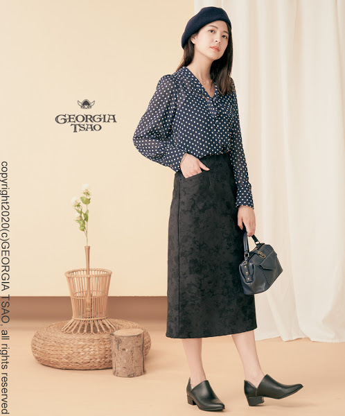 GT長版鉛筆裙