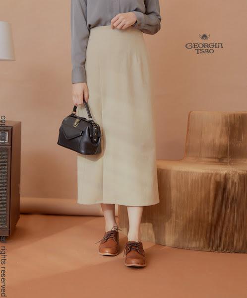 GT側開衩長窄裙(薄款)