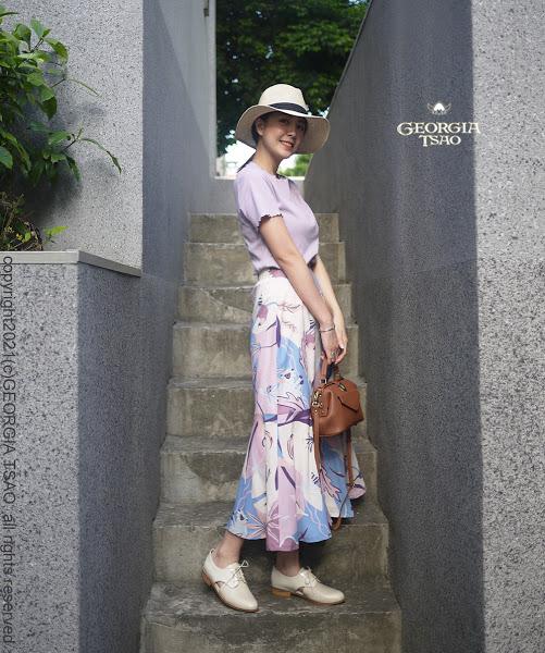 GT Print 魚尾裙