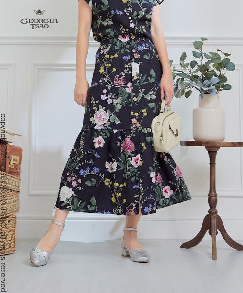 GT排釦魚尾裙