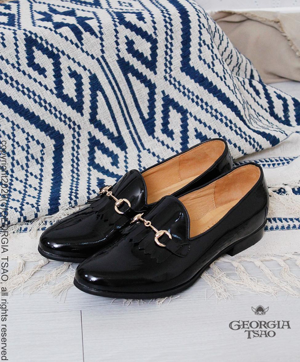 GT全真皮女爵鞋