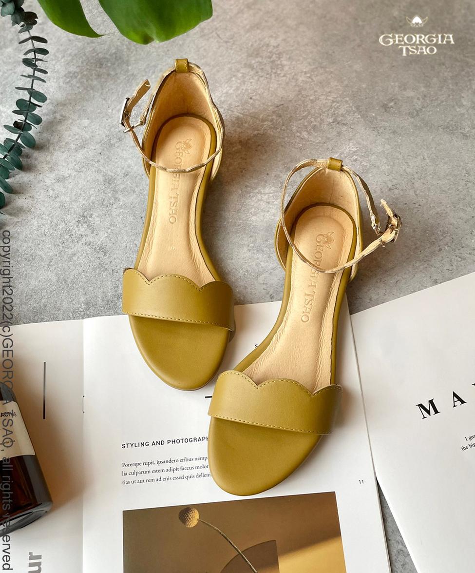 GT波浪繫帶涼鞋
