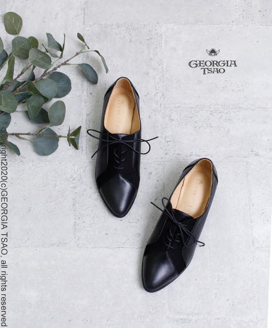 GT全真皮拼接紳士鞋