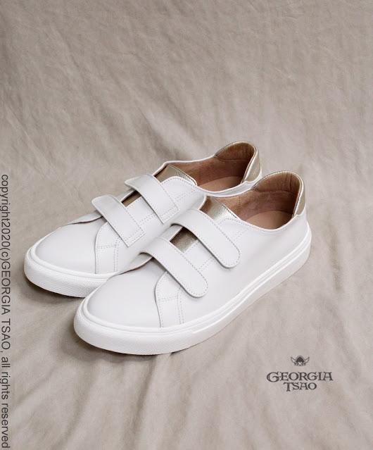GT相信愛全真皮休閒鞋