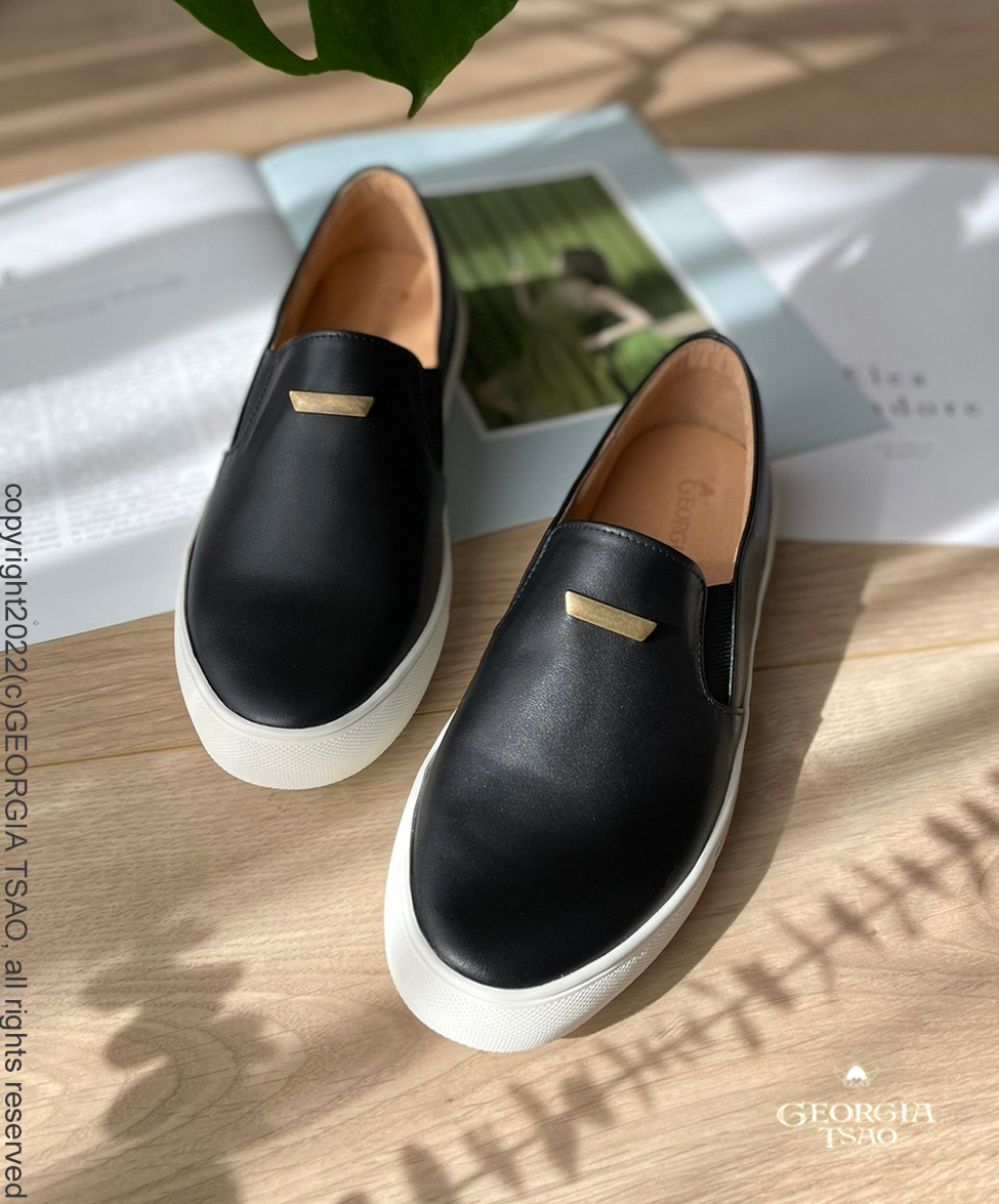 GT全真皮懶人鞋