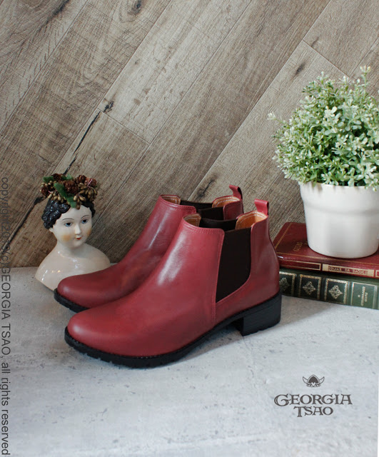 GT全真皮靴經典Chelsea Boots