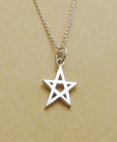 小星號純銀項鍊