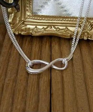 小無限純銀項鍊(雙鍊)