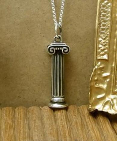 希臘柱純銀項鍊(女)