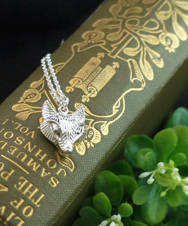 狐狸純銀項鍊