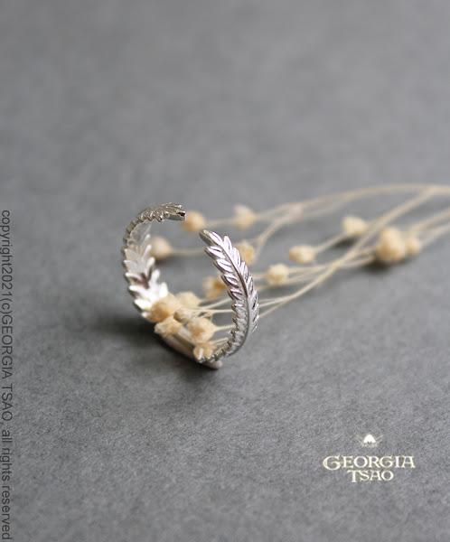 GT稻穗桂冠戒指