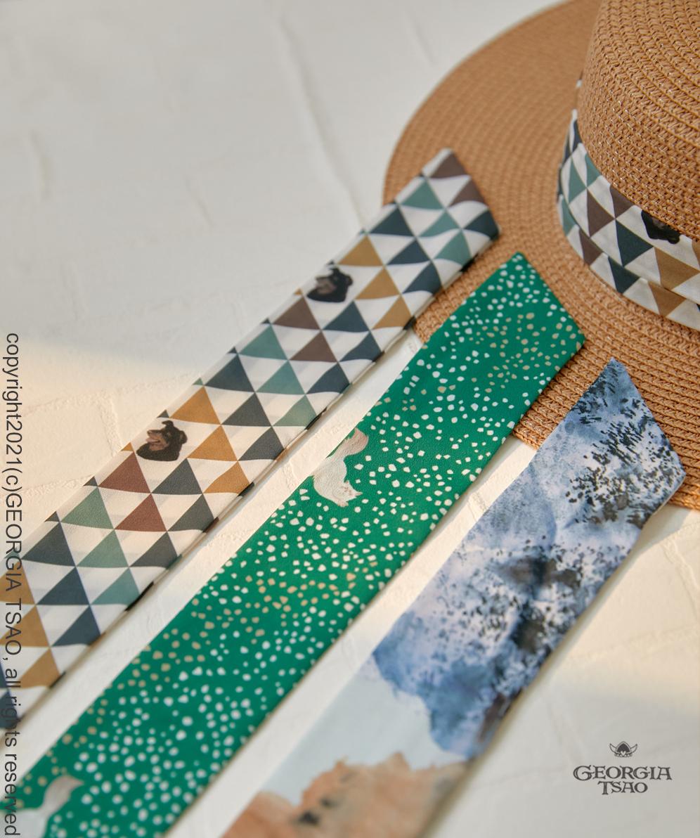 GT Print 領巾